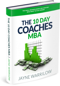 the 10 day coaches mba jayne warrilow