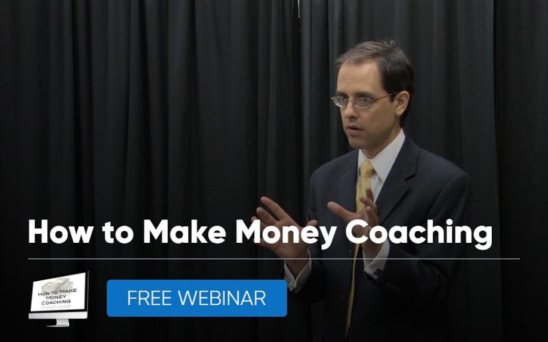 how to make money coaching webinar