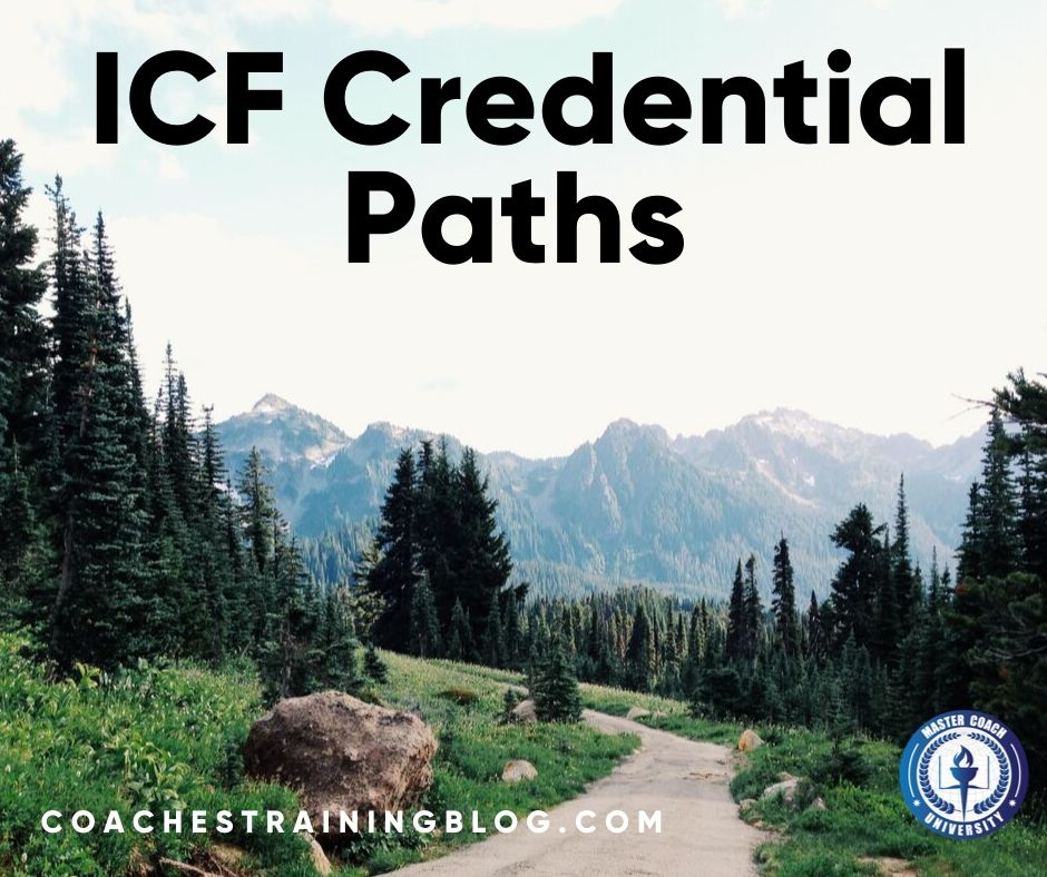 The PCC ICF Credential Paths