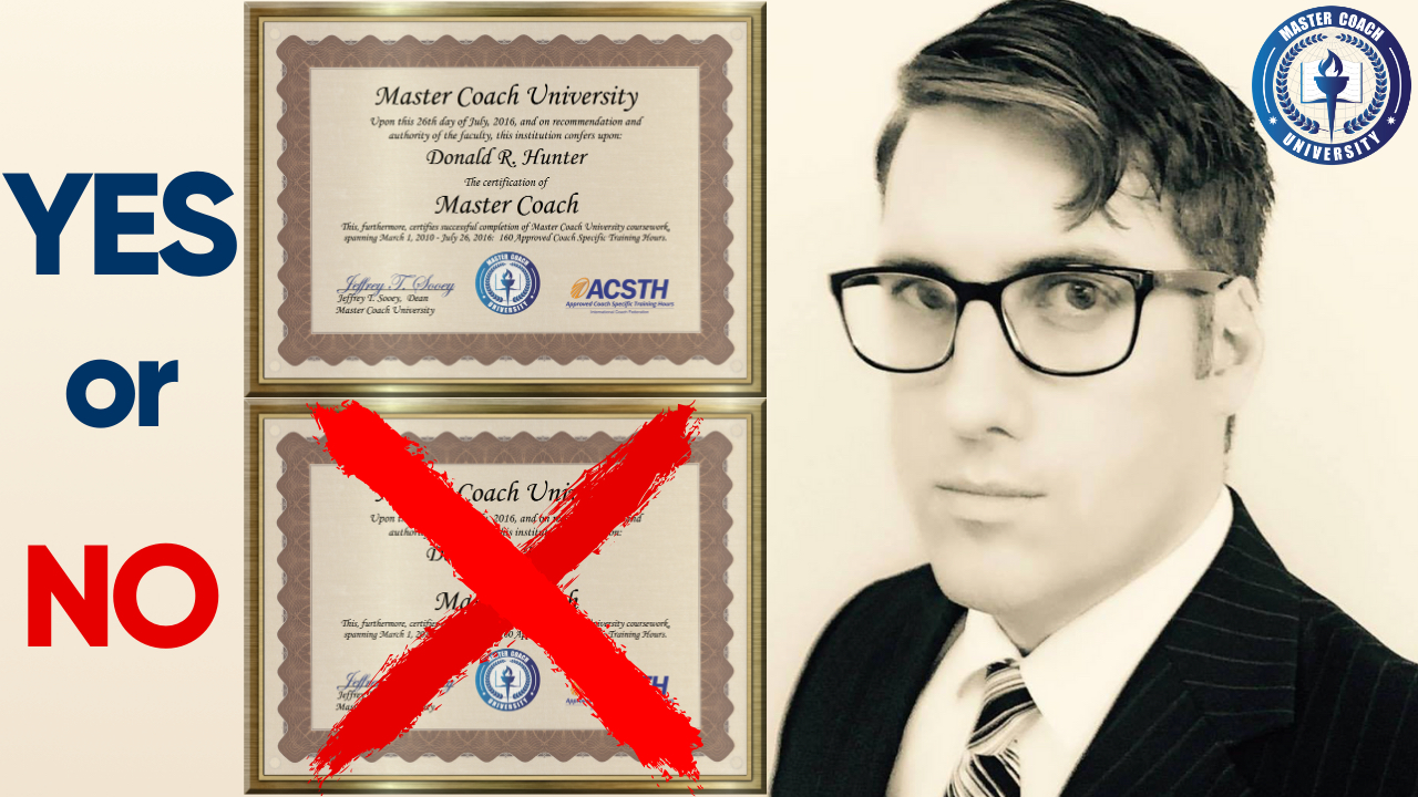 Can I be a life coach without certification? What Coaching Schools Don't Want You to Know