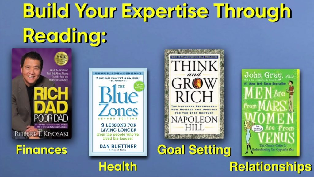 You can build your coaching expertise through READING BOOKS...