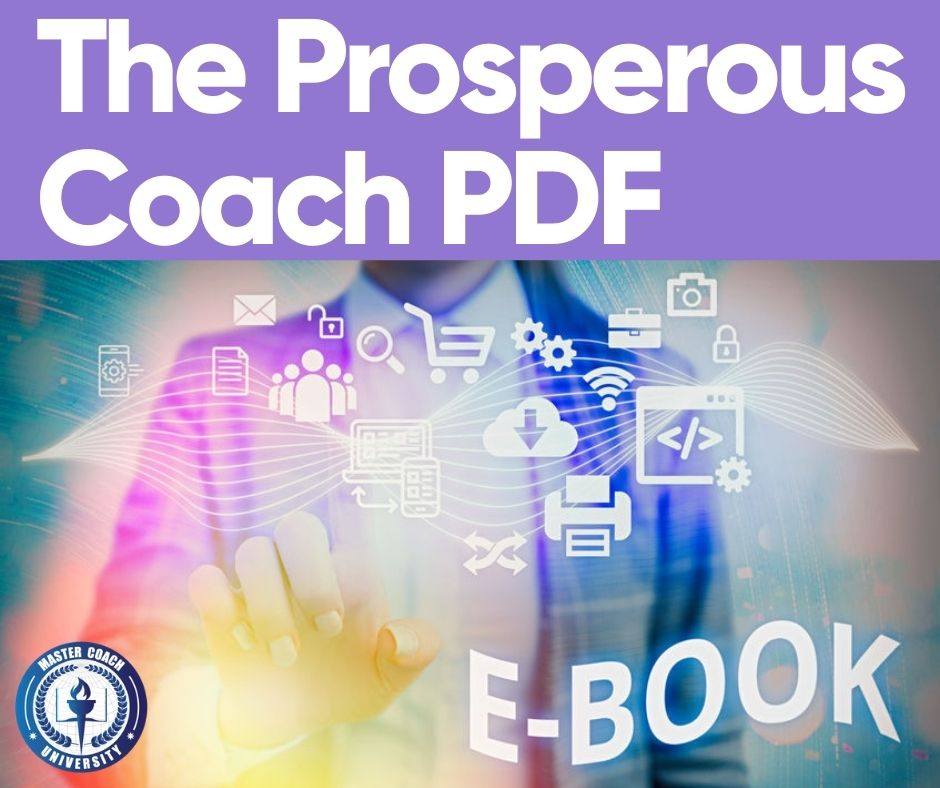 The Prosperous Coach PDF E-Book Idea: How to Write One