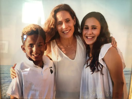 Dr. Colette Coiner and her kids