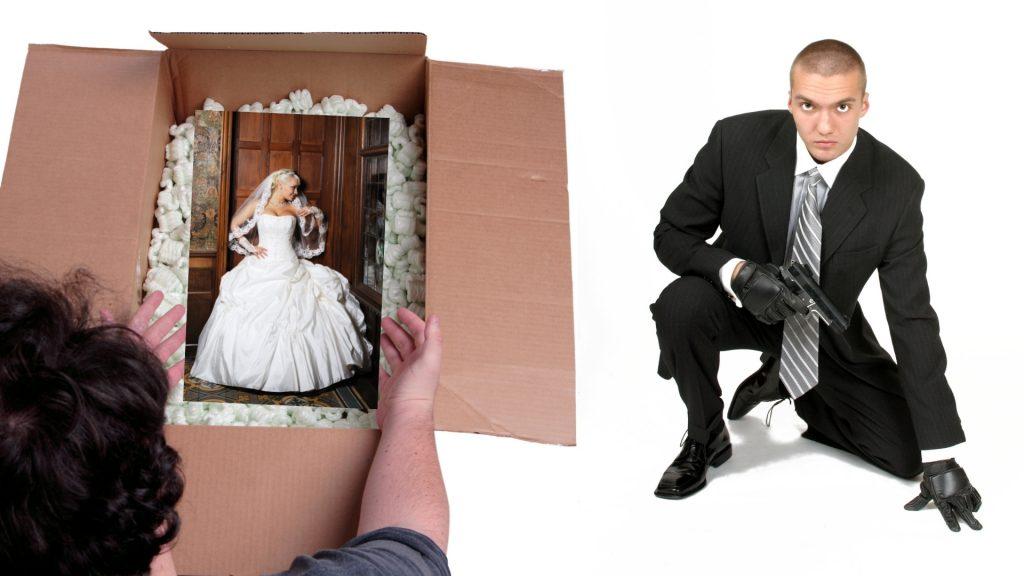 Russian mail-order bride hires hitman?