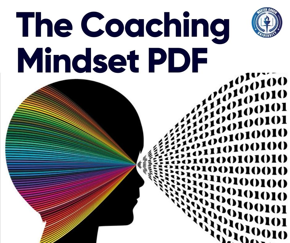 "The Coaching Mindset PDF Resource: The Coaching Mindset: 8 Ways To Think Like A Coach""."