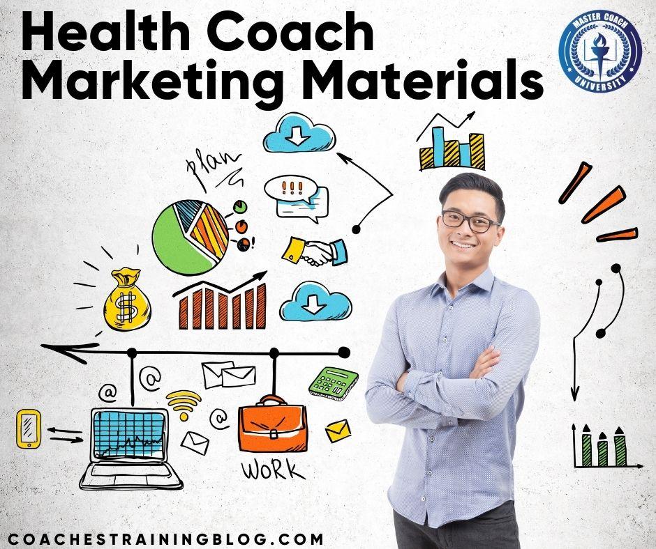 Effective Health Coach Marketing Materials For The Aspiring Coach
