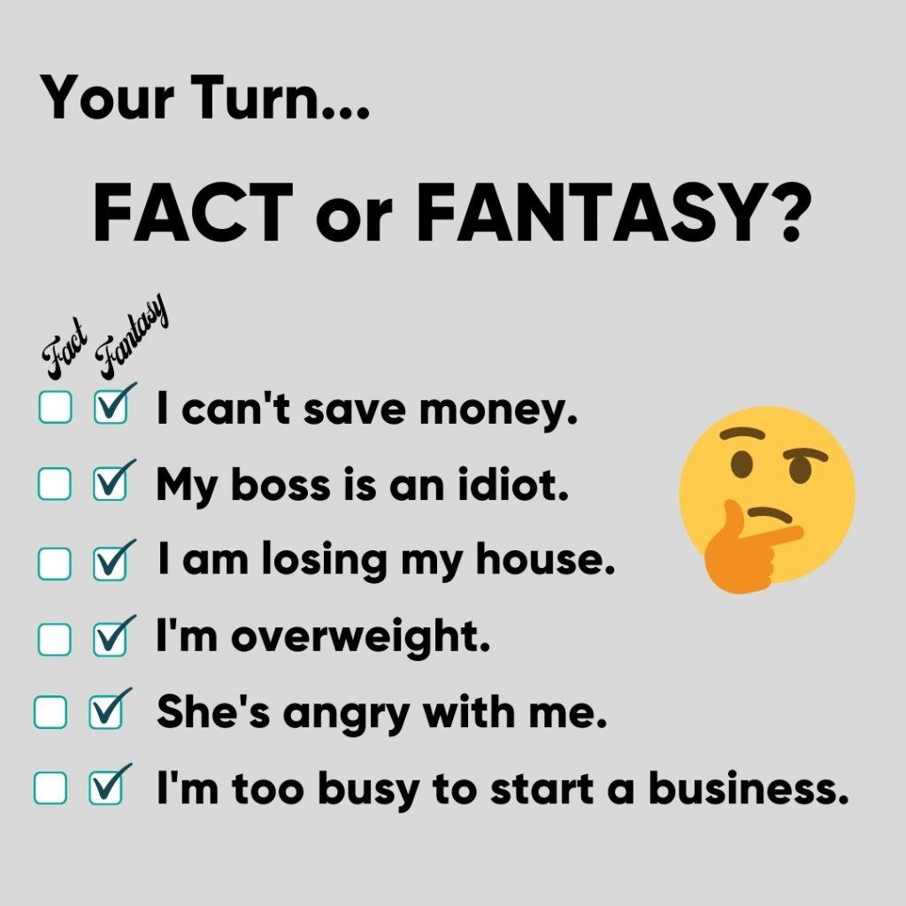 Fact or Fantasy