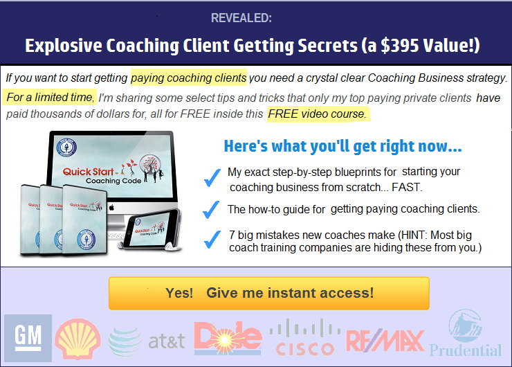 Free Video Course How To Build A High Paying Coaching Business