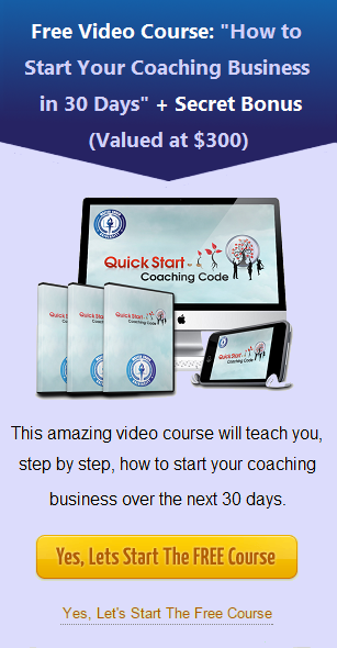 Free Video Course: How To Start Your Coaching Business in 30 Days